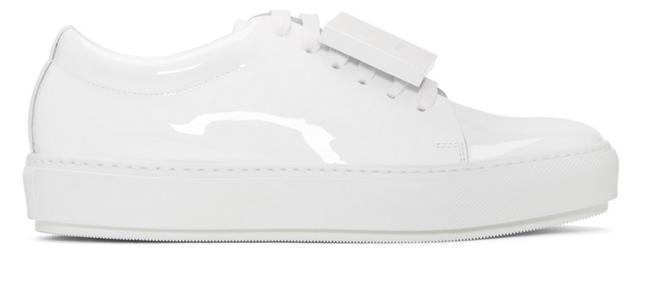 For  Sale: Studios White Patent Adriana Sneakers Size 37