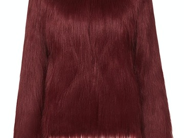 For  Sale: UNREAL FUR red jacket Size 12