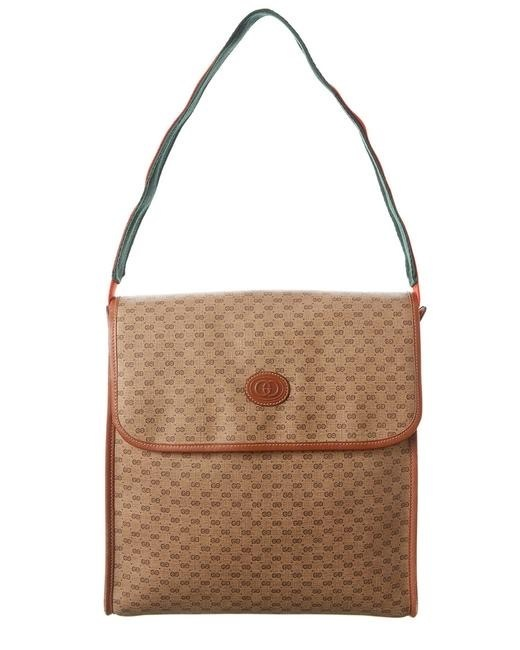 Buy: Brown GG Canvas & Leather Bag
