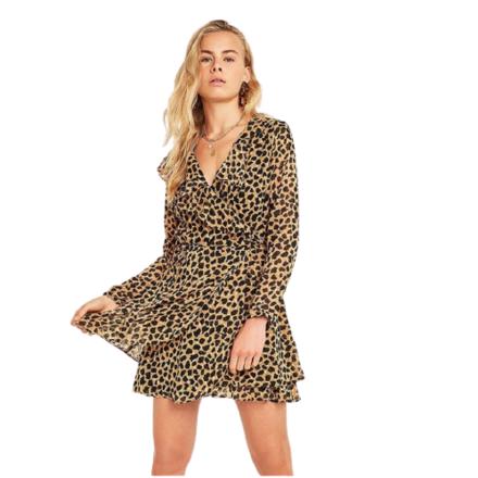 For  Sale: Leopard Print Wrap Dress Size 12