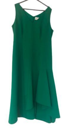 For  Sale: Green midi dress Size 14