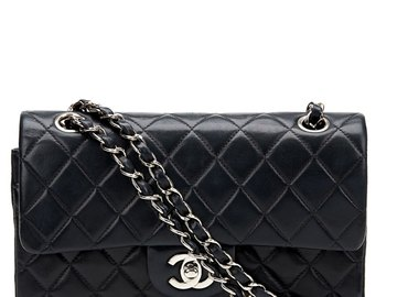 For  Sale: CHANEL Classic Black Quilted Handbag BNWT