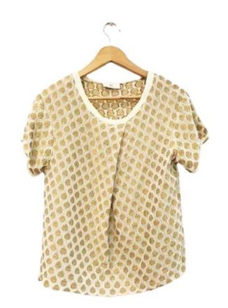 For  Sale: DAY BIRGER ET MIKKELSEN Gold detailing Blouse Size 12