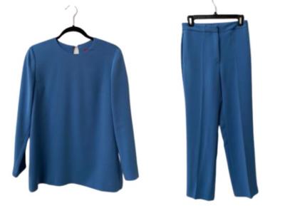 Buy: Light blue pants suit Size 8, Size 10