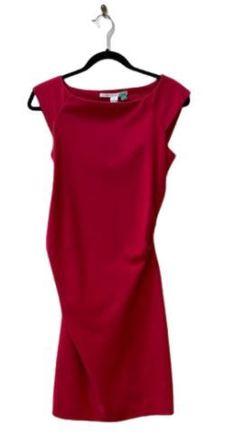 For  Sale: DIANE VON FURTSENBERG Red tan Viscose blend Dress Size 8