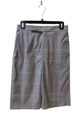 Buy: Grey checkered  shorts Size 8