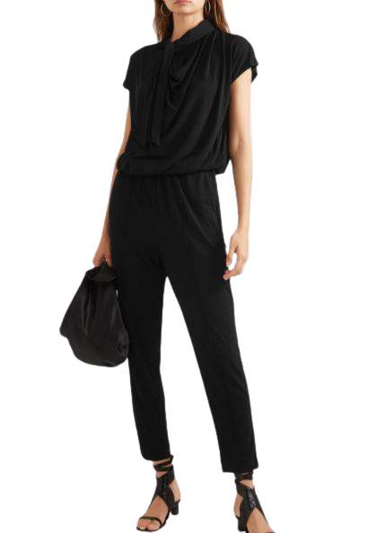Buy:  Black Emerly Jumpsuit Size 8