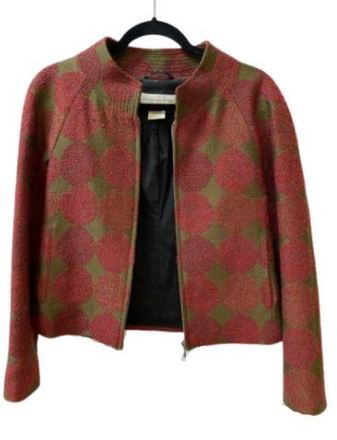 Re-sell: Green and red dots Jacket 8-10