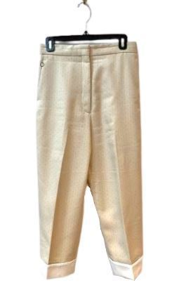 For  Sale: Beige dot embroidered Pants Size 10