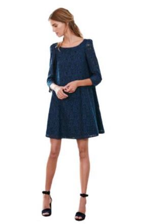 For  Sale: Rififi Navy Lace Dress Size 12