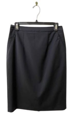 For  Sale:  Black pencil skirt with pockets Size 8