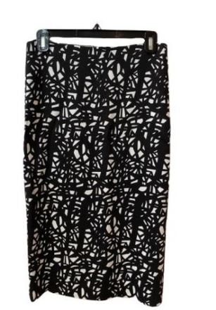 For  Sale: Black and white patterned skirt Size 10