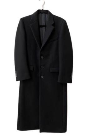 For  Sale:  Black trench coat Size 8