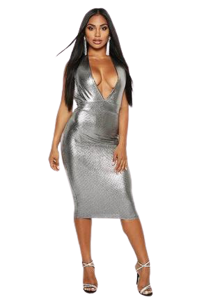 For  Sale: Metallic Halter Dress BNWT Size 8
