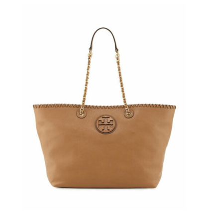 Re-sell: Marion tote tan leather chain shoulder bag