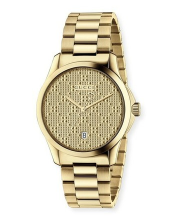 Buy: Gold G-timeless Stainless Steel Watch