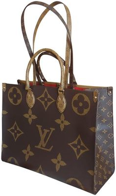 Buy:  Onthego Bag On The Go Reverse Monogram Canvas Tote