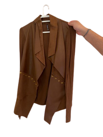 Re-sell: Tan jacket Size 12