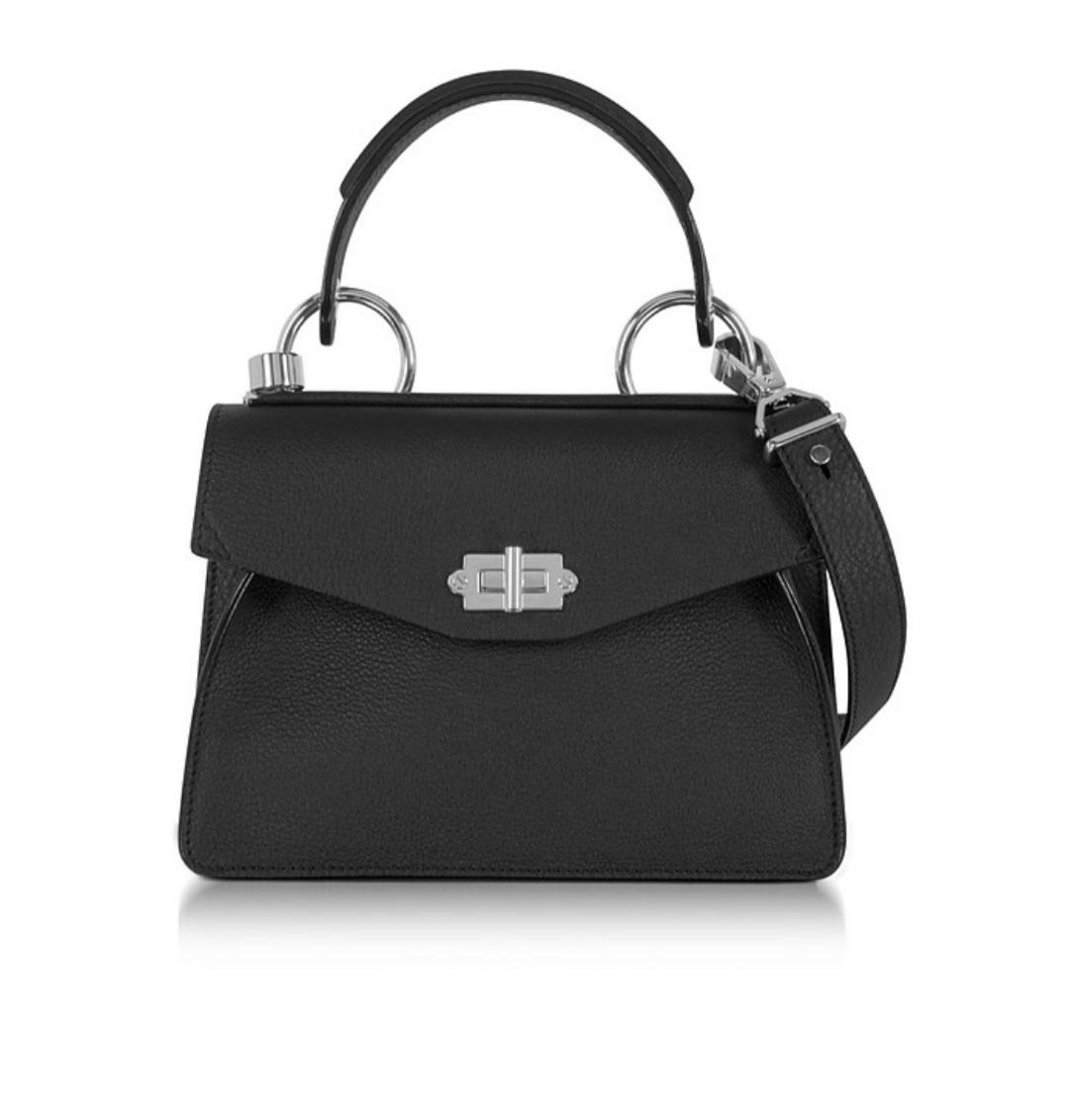 Buy: small top handle bag black