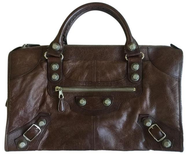 Buy: Silver City Brown Leather Satchel