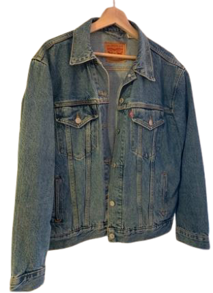 Re-sell: Denim jacket Size 12-14