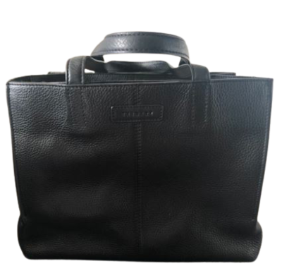 Buy: Black Leather Handbag