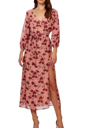 Re-sell: Valentine midi dress Size 6