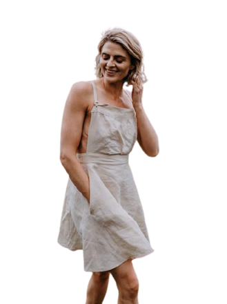 Re-sell: Wannon Pinafore dress BNWT Size 8