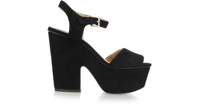 Re-sell: Suede Platform Sandals BNWT Size 36.5