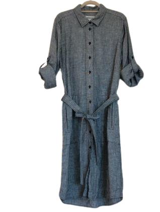 Re-sell: Linen Shirt Dress Size 8