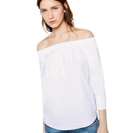 Re-sell: Off The Shoulder Blouse Size 8