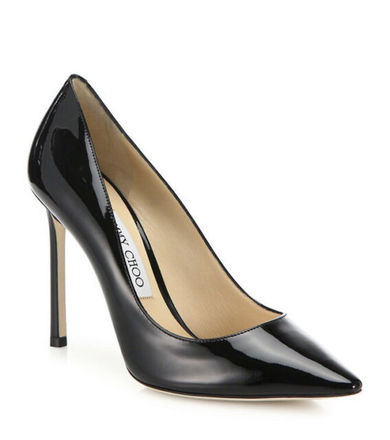 Re-sell: Romy Black Patent leather pump heels BNWT Size 8.5