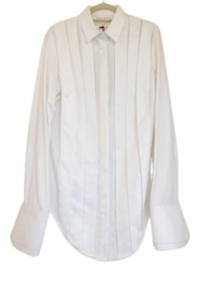 Re-sell:  Pleated Long sleeve Shirt BNWT Size 10