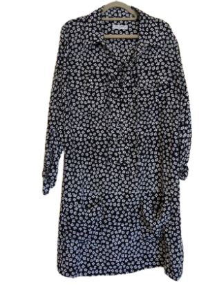 Re-sell: Printed Silk Dress Size 6