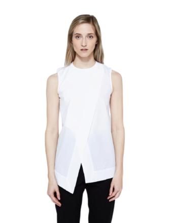 Re-sell: Berle Poplin Sleeveless Top Size 36