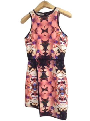 Re-sell: Floral dress Size 8