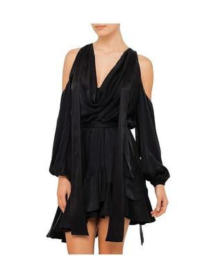 Rent: Sueded Billow Dress Size 8