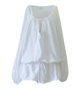 Buy: White summery playsuit Size 4