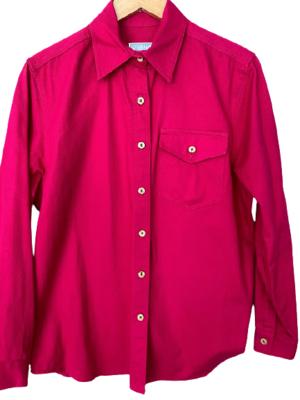 Buy: Hot pink drill shirt Size 14