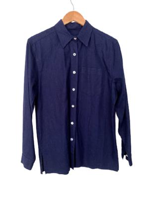 Buy: Navy drill shirt Size 14