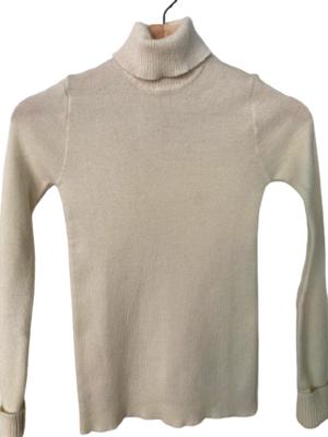 Buy: Cream wool turtleneck Size 10