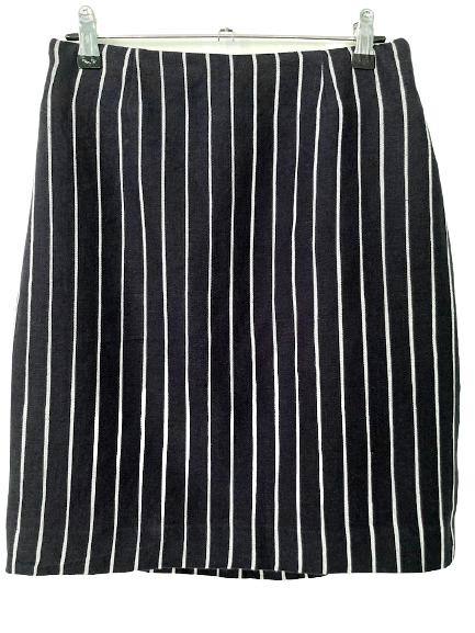 Rent: pinstripe mini pencil skirt Size 10