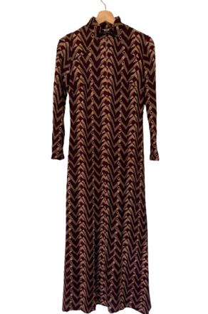 Rent: 70s maxi jersey dress Size 10