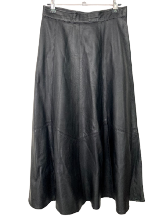 Rent: A-line leather skirt Size 10