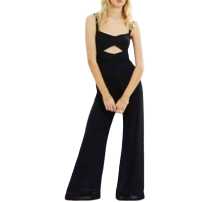 Buy: Black Patti Jumpsuit Size 8