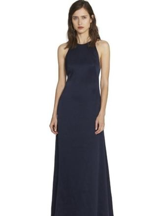 Buy: Blue silk gown Size 8