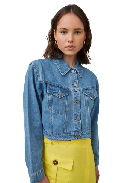 Buy: PERIPHERAL JACKET IN BLUE DENIM BNWT Size 8