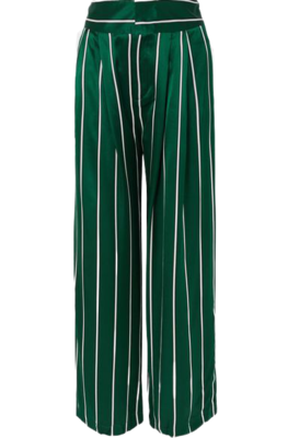 Buy: Love unconditionally striped silk wide leg pants BNWT Size 8