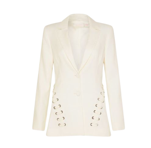 Buy: Atlas Jacket Fitted Tailored Blazer Ivory BNWT Size 8