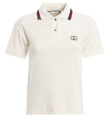 Buy: Appliquéd cotton-terry polo shirt Size 8